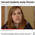 Harvard students study iHuman success stories