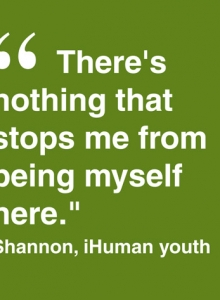 Shannon, iHuman Youth
